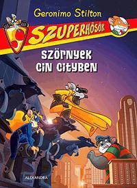 SZÖRNYEK CIN CITYBEN - SZUPERHŐSÖK 2.