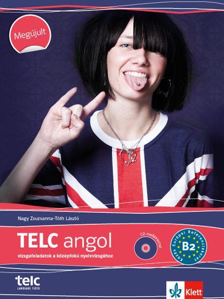 TELC - ANGOL VIZSGAFELADATOK B2 - CD-VEL - ÚJ!