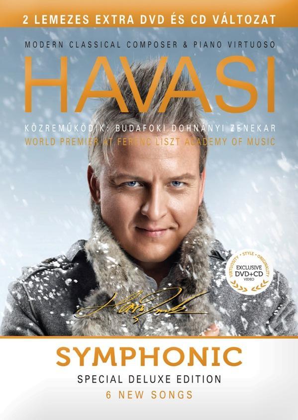 SYMPHONIC - HAVASI BALÁZS - CD+DVD -