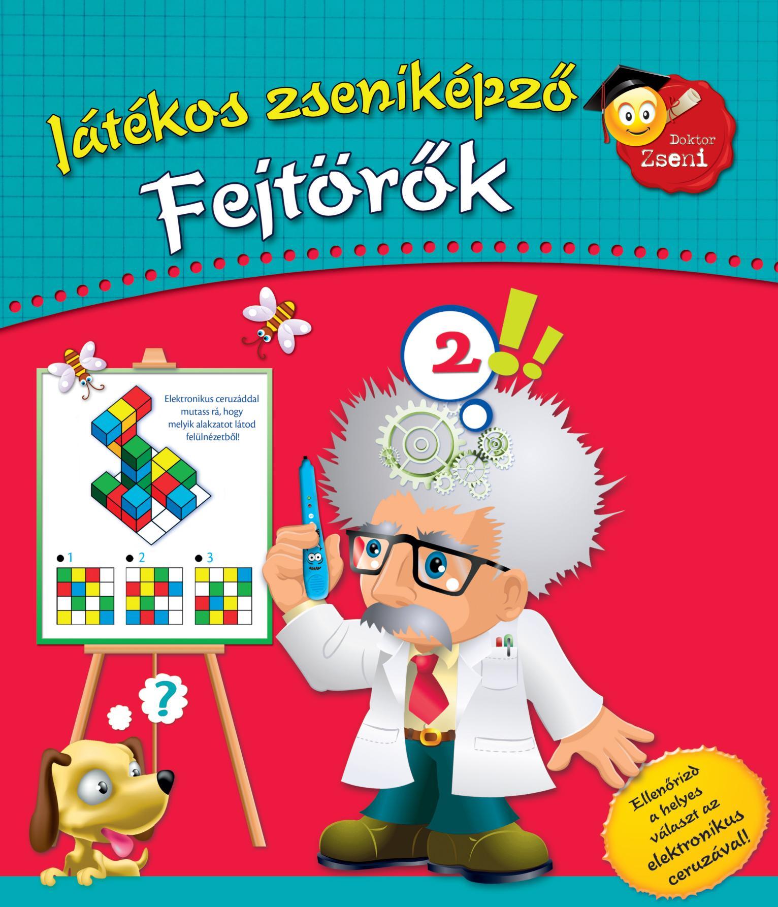 FEJTÖRŐK - JÁTÉKOS ZSENIKÉPZŐ