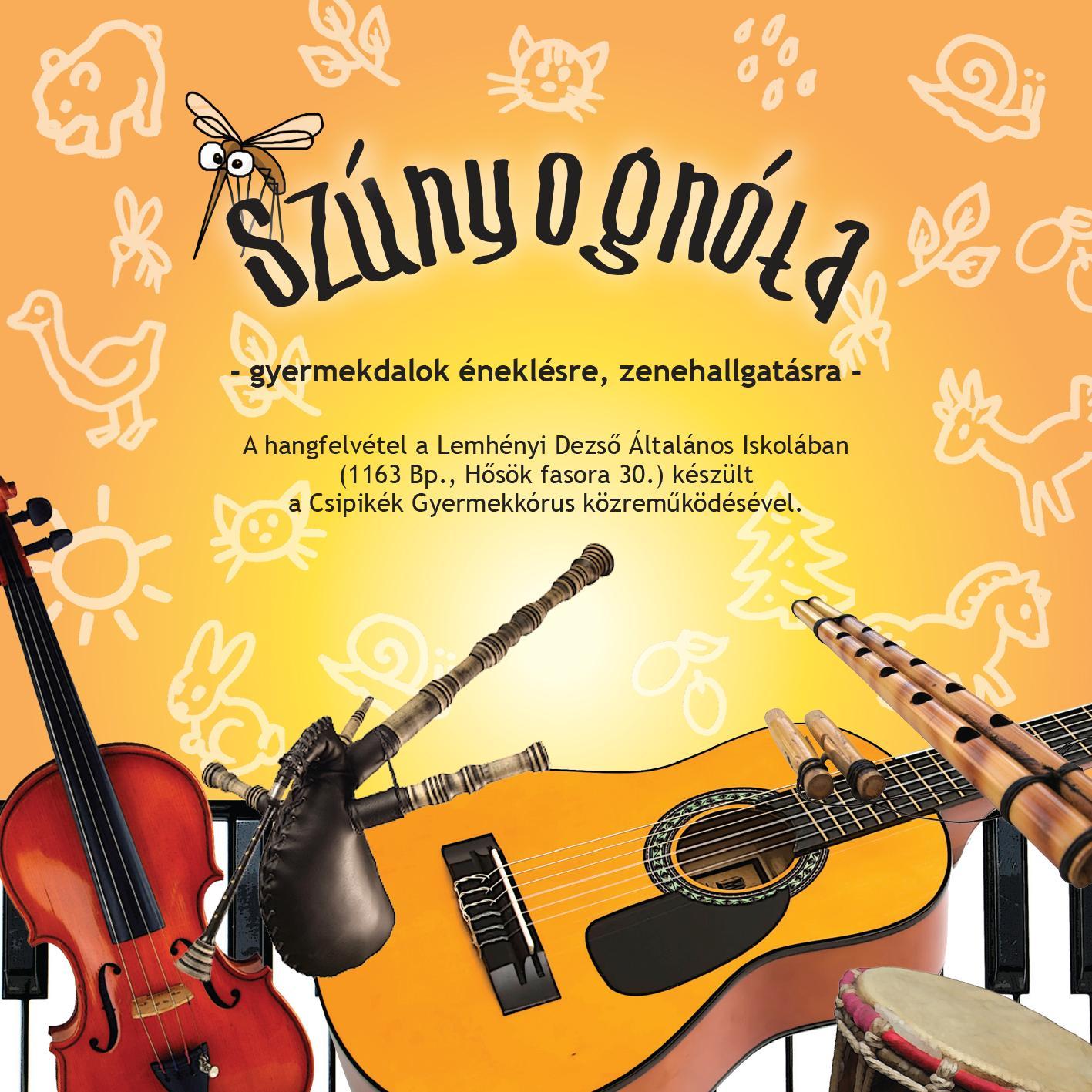 SZÚNYOGNÓTA - CD -