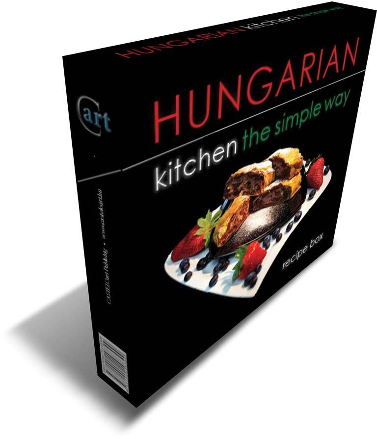 HUNGARIAN KITCHEN THE SIMPLE WAY - RECIPE BOX