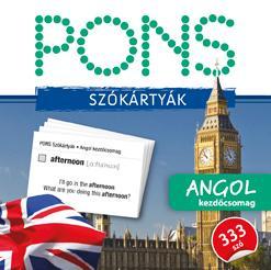 PONS SZÓKÁRTYÁK - ANGOL KEZDŐCSOMAG