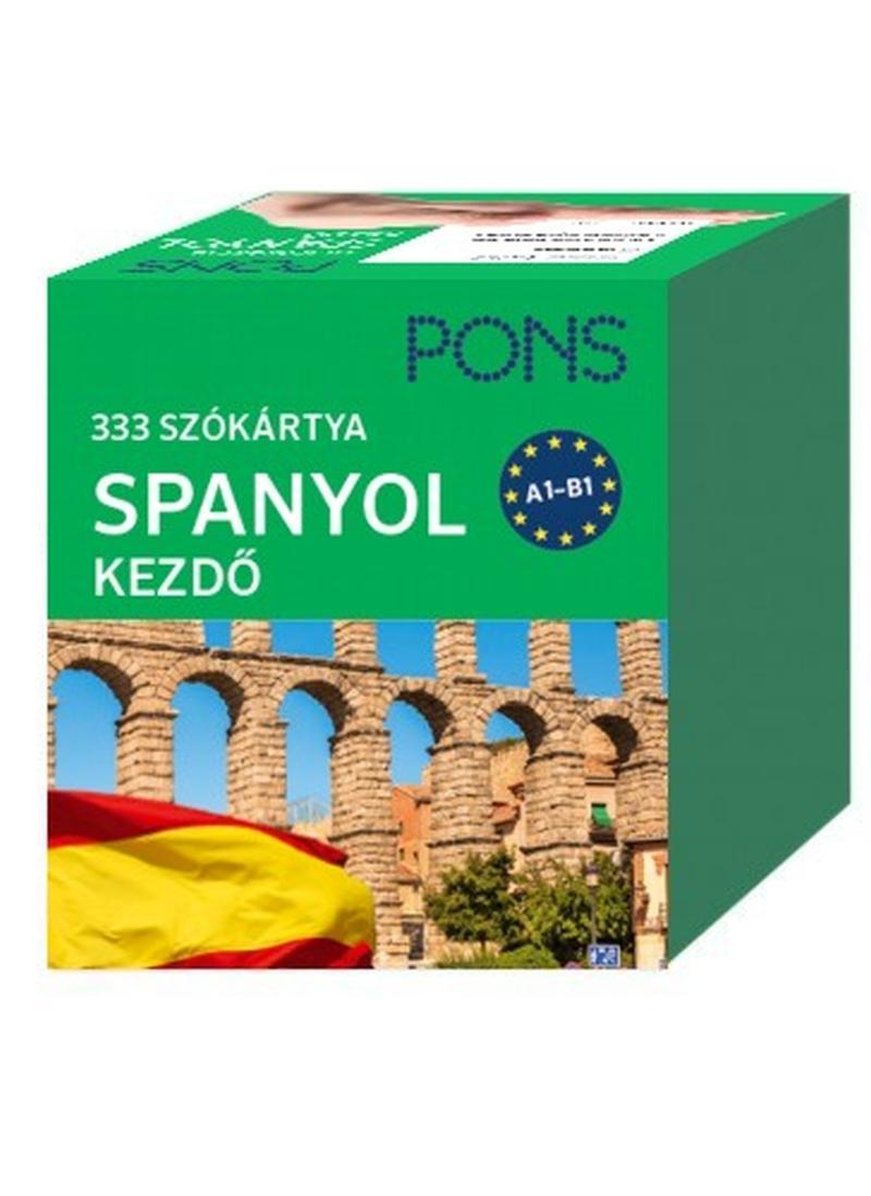 PONS SZÓKÁRTYÁK - SPANYOL KEZDŐCSOMAG