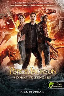 SZÖRNYEK TENGERE - PERCY JACKSON 2. - FŰZÖTT (FILMES BORÍTÓVAL)