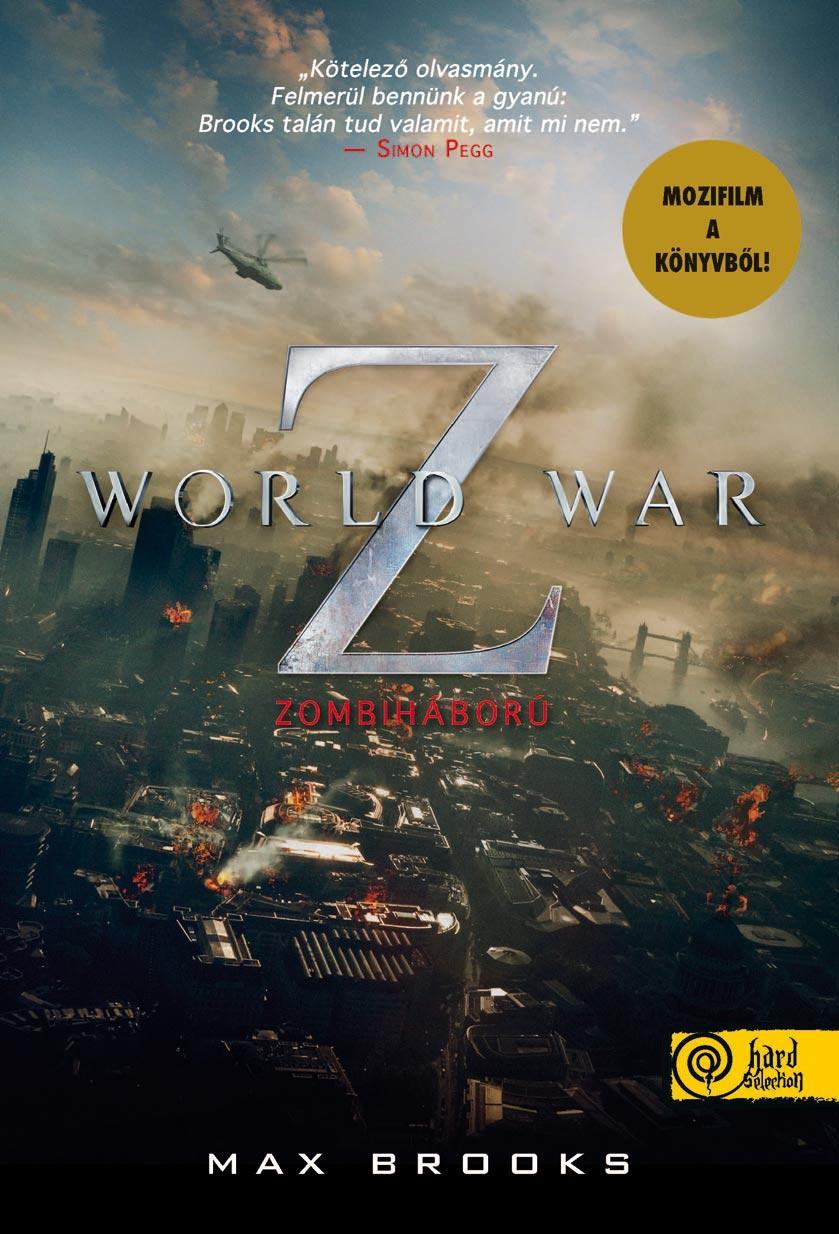 WORLD WAR Z - ZOMBIHÁBORÚ - KÖTÖTT (FILMES BORÍTÓ)
