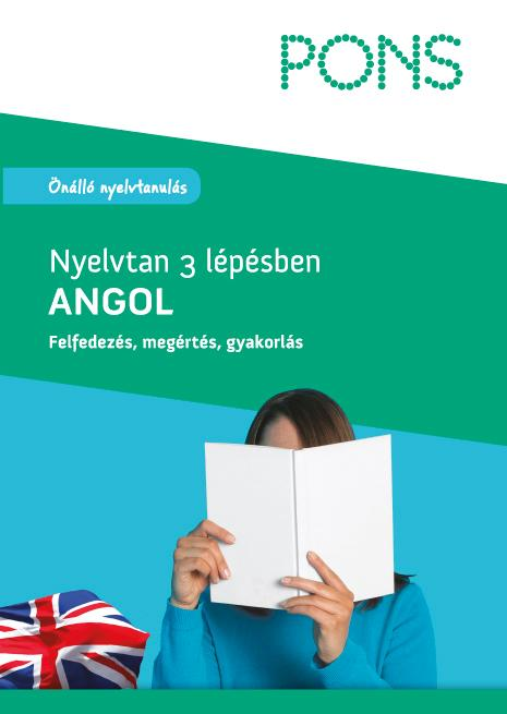 PONS - NYELVTAN 3 LÉPÉSBEN - ANGOL (ÚJ)