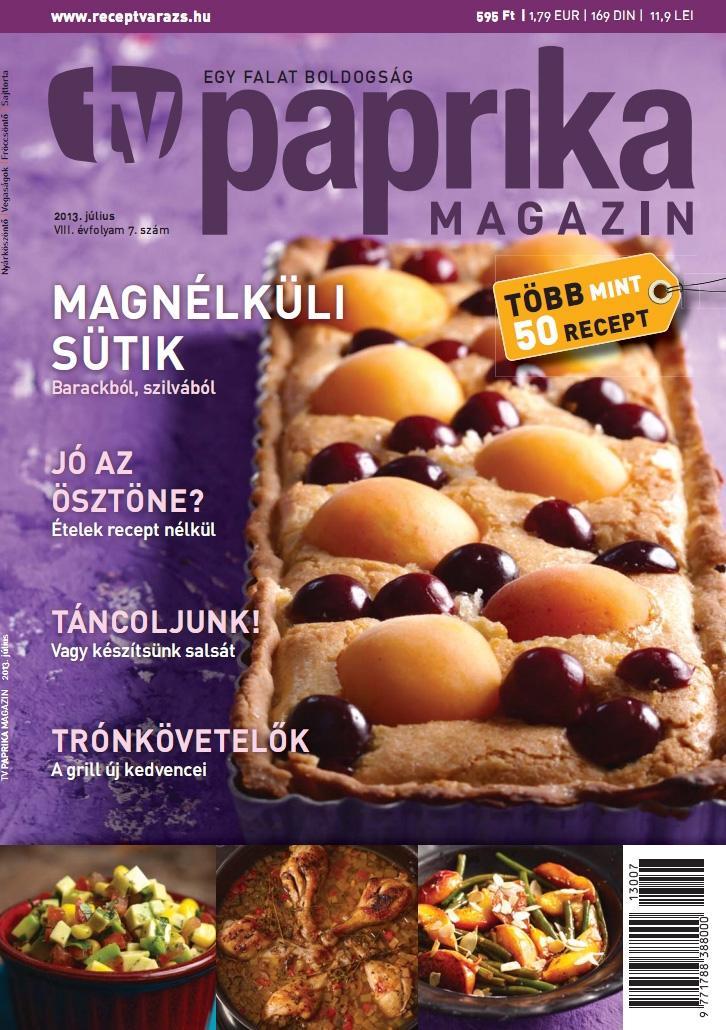 TV PAPRIKA MAGAZIN - 2013. JÚLIUS