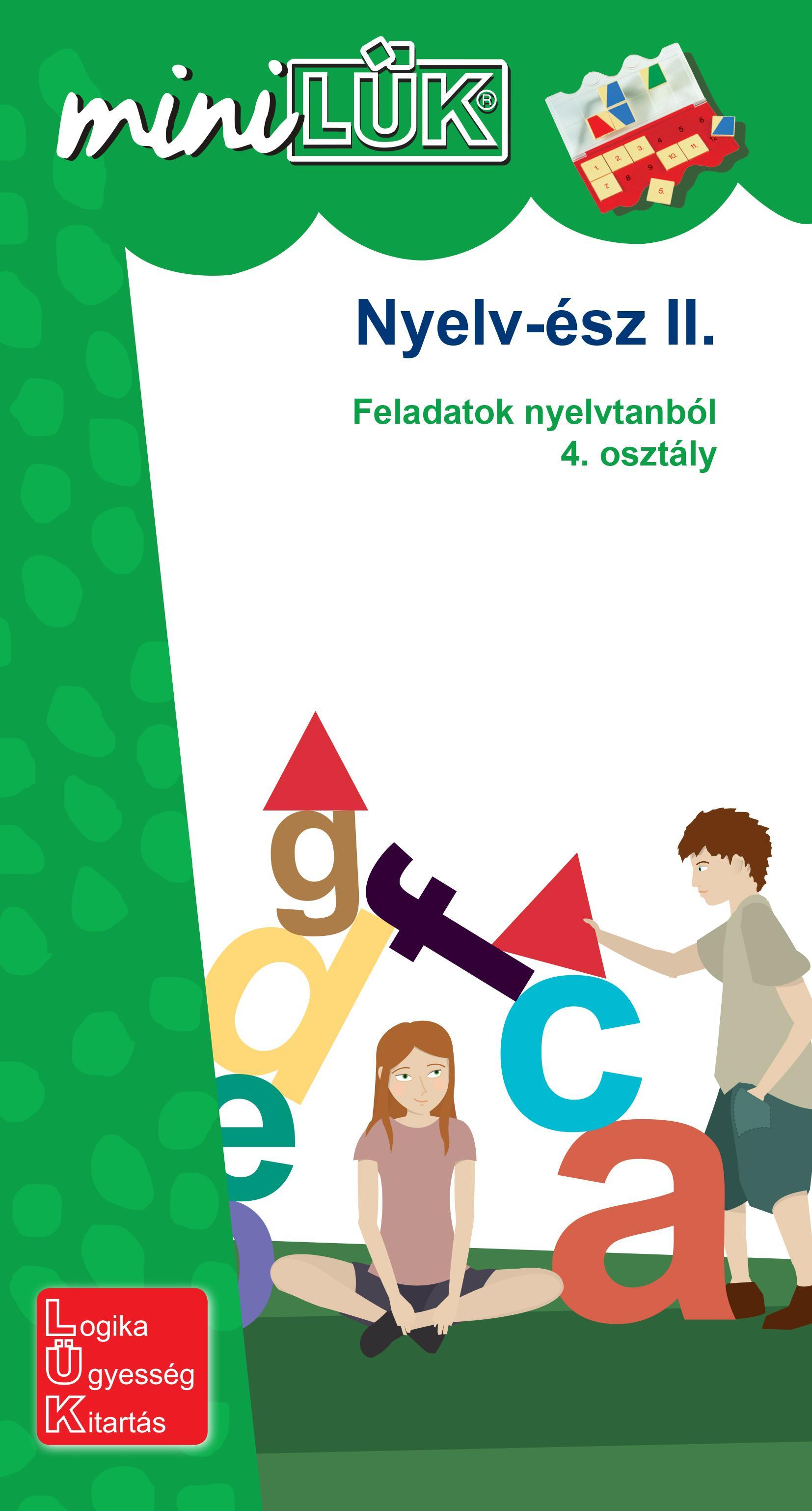 NYELV-ÉSZ II. - FELADATOK NYELVTANBÓL 4. OSZT.