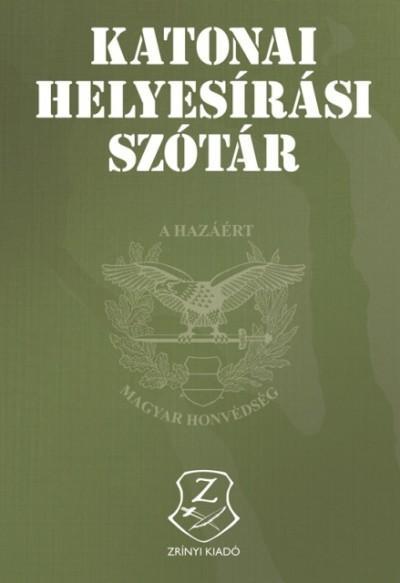 KATONAI HELYESÍRÁSI SZÓTÁR