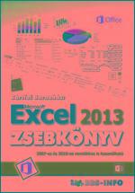 EXCEL 2013 ZSEBKÖNYV