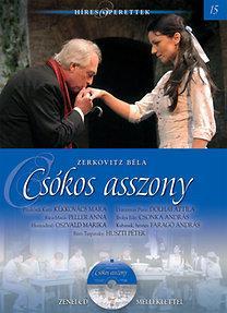 CSÓKOS ASSZONY - HÍRES OPERETTEK 15. - CD MELLÉKLETTEL