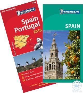 SPAIN - SPANYOLORSZÁG ÚTIKÖNYV + TÉRKÉP (MICHELIN)
