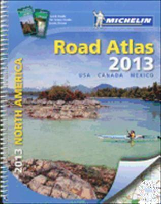 - NORTH AMERICA ROAD ATLAS 2014 - USA, CANADA, MEXICO