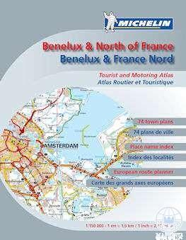 BENELUX & NORTH OF FRANCE - BENELUX ÉS ÉSZAK-FRANCIAO. AUTÓS ATLASZ 2013