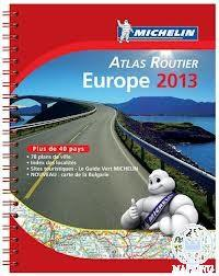EUROPE 2013 MOTORING ATLAS - EURÓPA ATLASZ