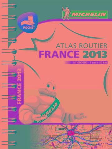 FRANCE 2013 ATLAS ROUTIER - FRANCIAORSZÁG ZSEBATLASZ