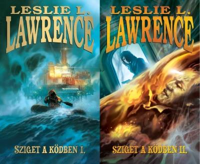 LAWRENCE, LESLIE L. - SZIGET A KÖDBEN I-II.