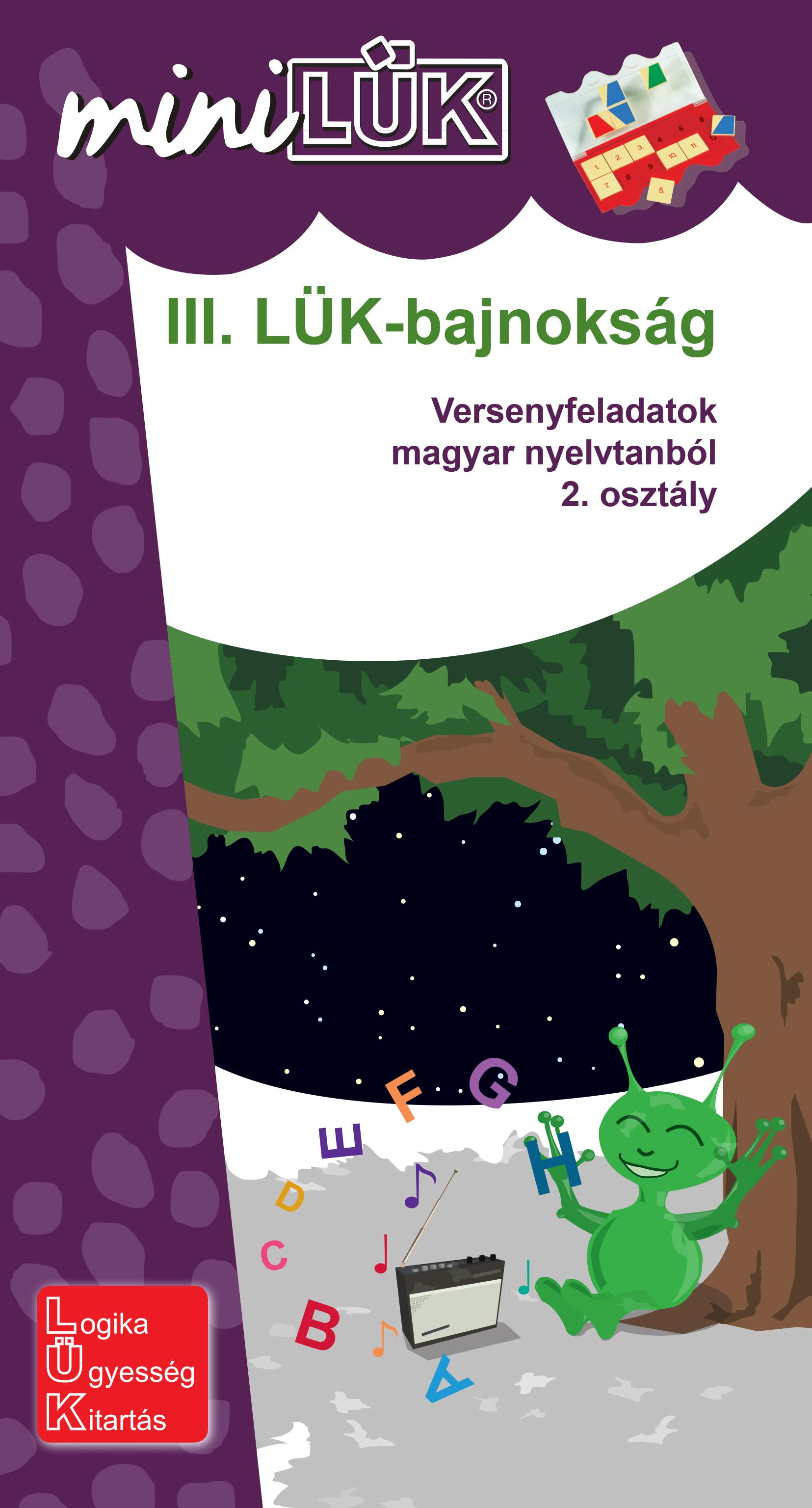 III. LÜK-BAJNOKSÁG - 2.OSZT., VERSENYFELADATOK MAGYAR NYELVTANBÓL
