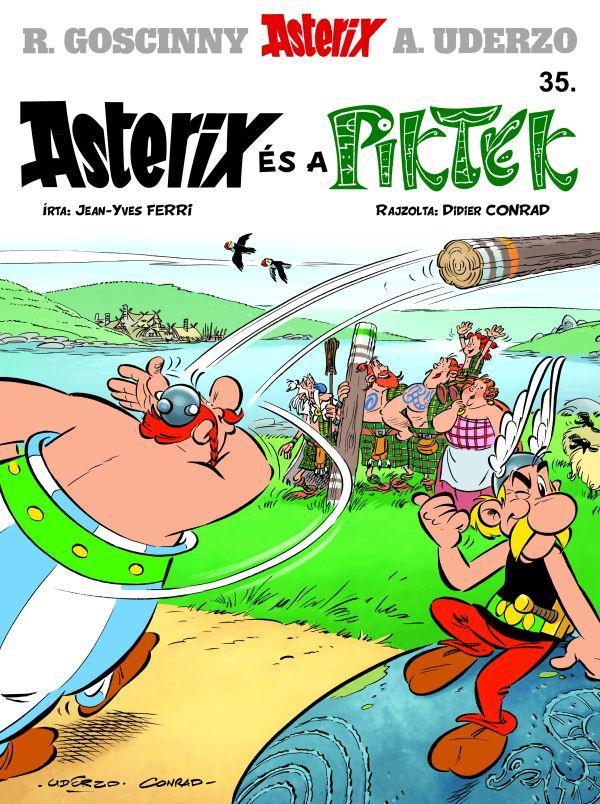 ASTERIX ÉS A PIKTEK - ASTERIX 35.