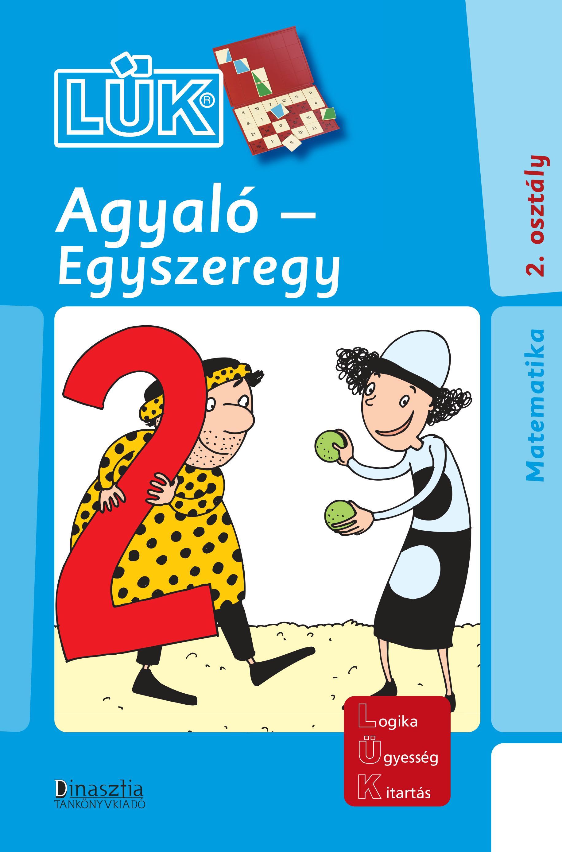 AGYALÓ - EGYSZEREGY - 2. OSZT. (LÜK)