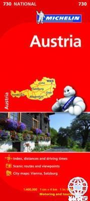 AUSTRIA - AUSZTRIA AUTÓTÉRKÉP 2013 (730)