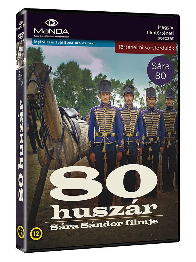 80 HUSZÁR  - DVD -