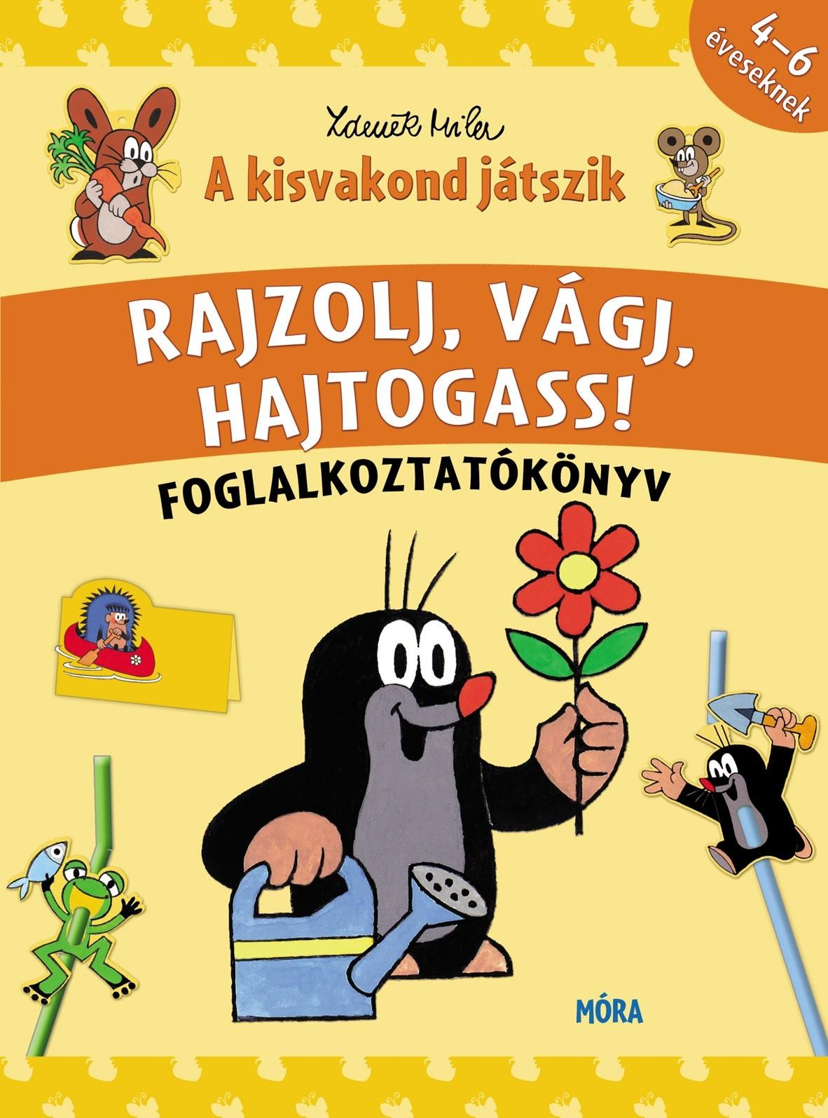 A KISVAKOND JÁTSZIK - FOGLALKOZTATÓKÉSZLET (4DB FOGL. FÜZET)
