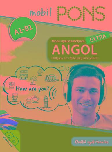- PONS MOBIL NYELVTANFOLYAM - ANGOL EXTRA (KÖNYV+2CD)