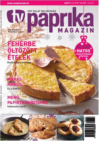 TV PAPRIKA MAGAZIN - 2013. DECEMBER