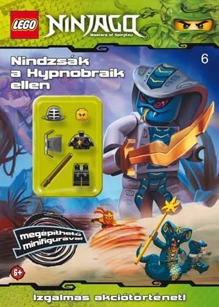 NINDZSÁK A HIPNOBRAIK ELLEN - LEGO NINJAGO + MINIFIGURA
