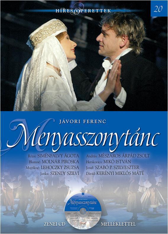 MENYASSZONYTÁNC - CD-VEL - HÍRES OPERETTEK 20.