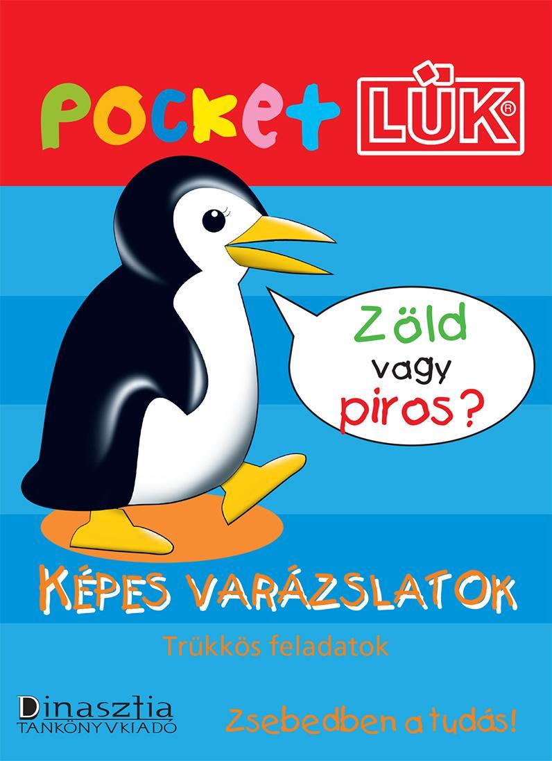 KÉPES VARÁZSLATOK - POCKETLÜK FÜZET
