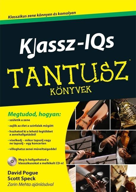 KLASSZ-IQS - TANTUSZ KÖNYVEK -