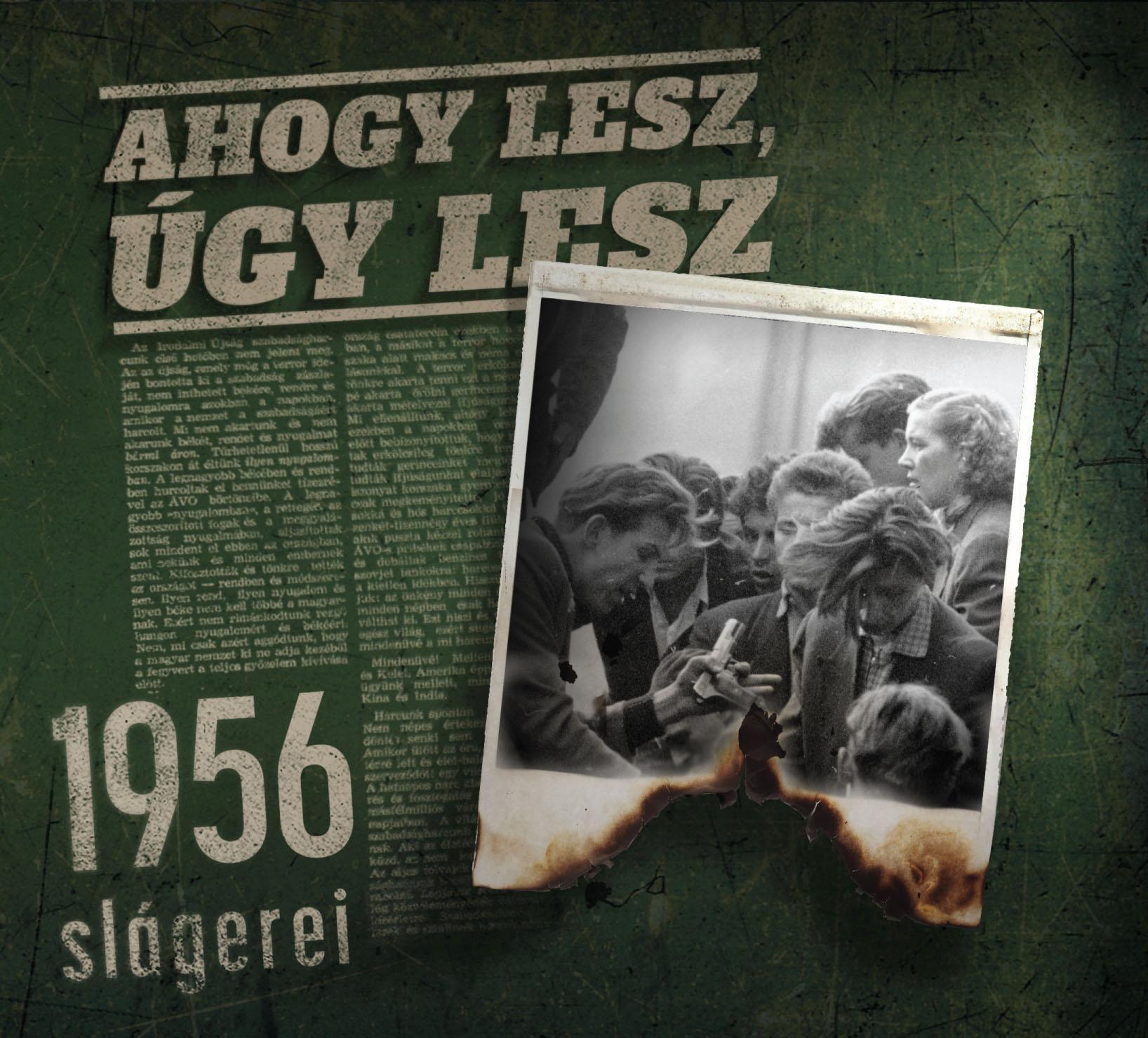 AHOGY LESZ, ÚGY LESZ - 1956 SLÁGEREI - CD - (ÚJ)