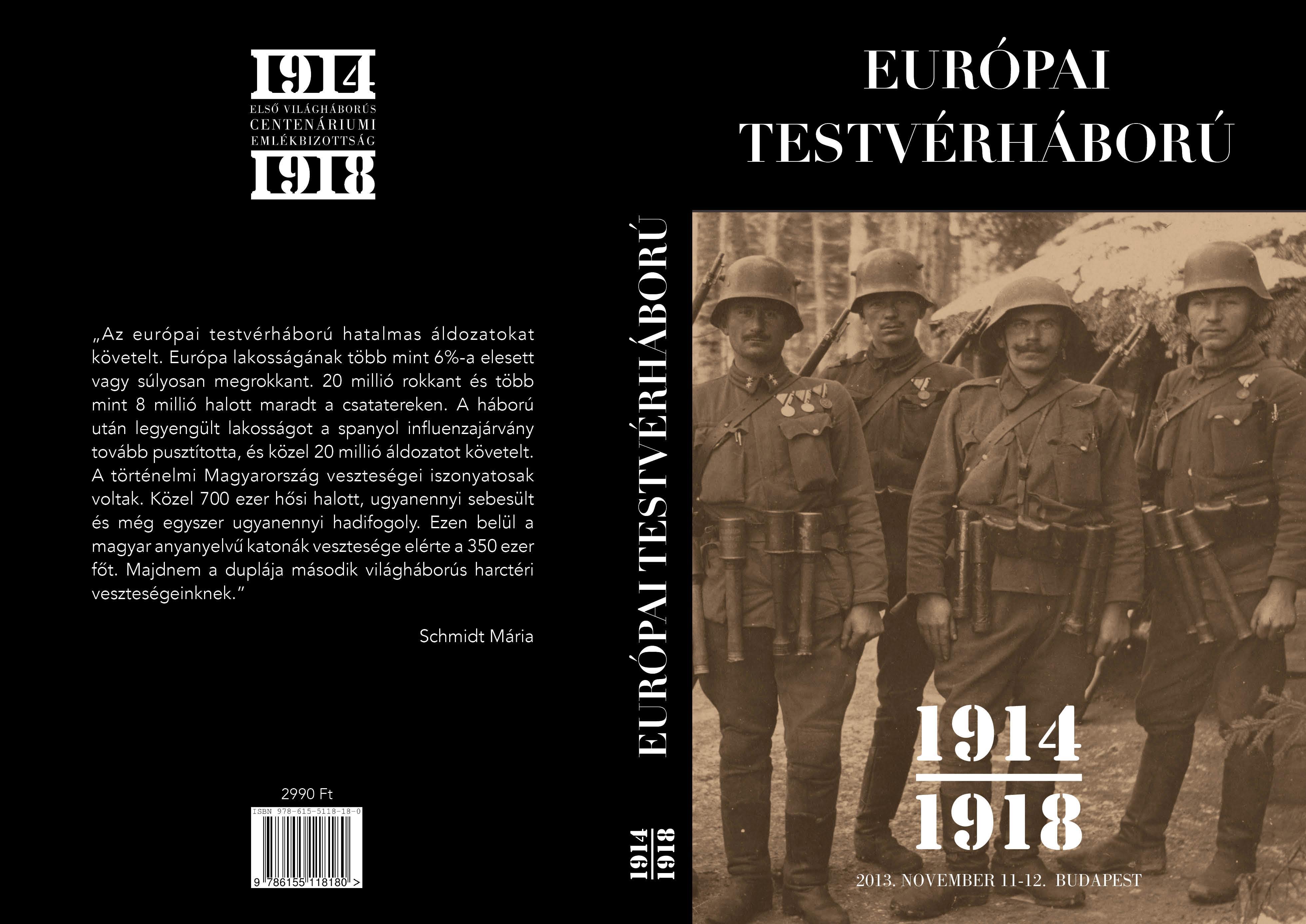 EURÓPAI TESTVÉRHÁBORÚ 1914-1918