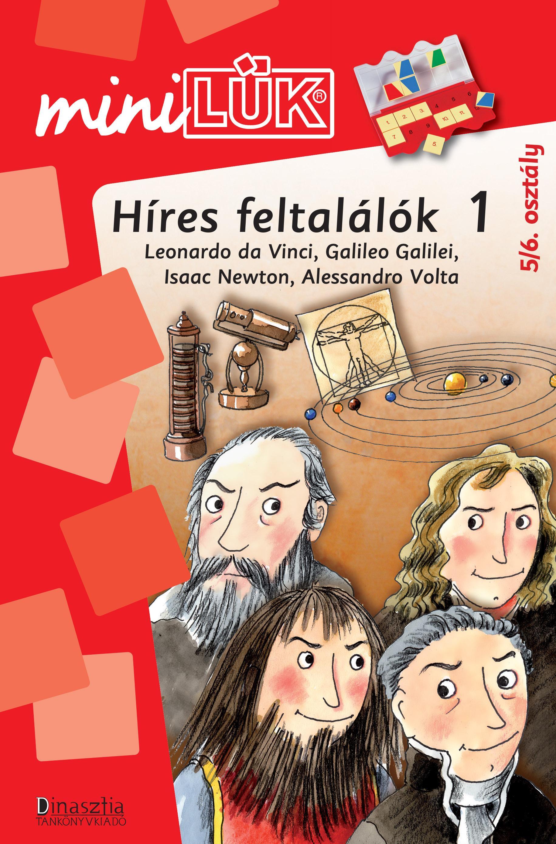 HÍRES FELTALÁLÓK 1. - MINILÜK