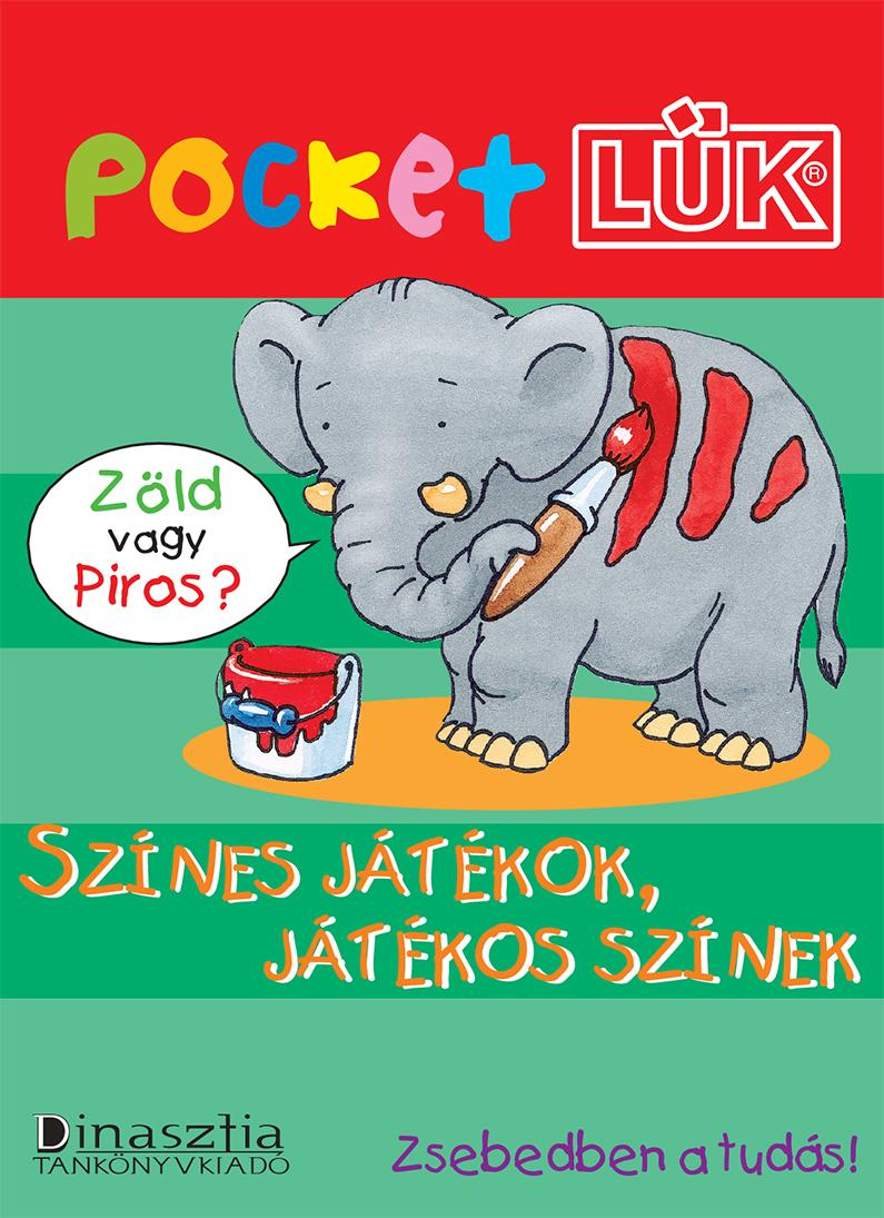 SZÍNES JÁTÉKOK, JÁTÉKOS SZÍNEK - POCKETLÜK
