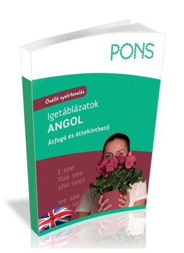 PONS IGETÁBLÁZATOK - ANGOL (ÚJ!)
