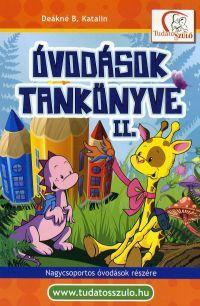 ÓVODÁSOK TANKÖNYVE II. - ÚJ BORÍTÓVAL!