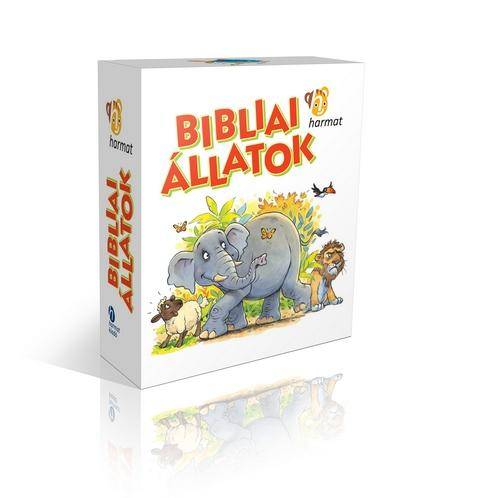 BIBLIAI ÁLLATOK - DOBOZOS KÖNYVEK (6DB LAPOZÓ)