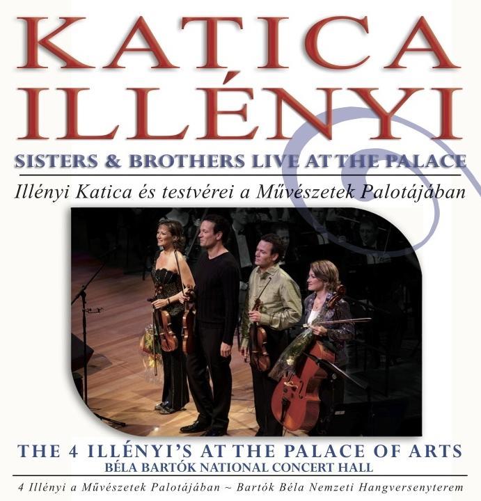 THE 4 ILLÉNYI'S AT THE PALACE OF ARTS - CD -