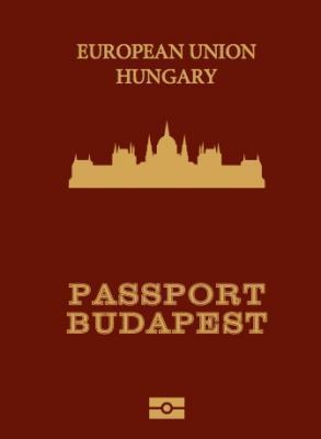 PASSPORT BUDAPEST - JEGYZETFÜZET