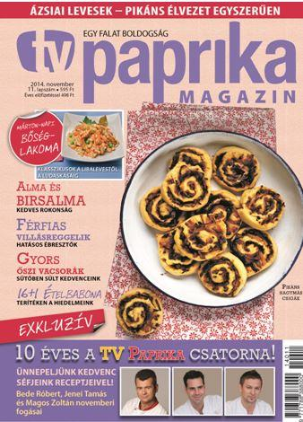 TV PAPRIKA MAGAZIN - 2014. NOVEMBER