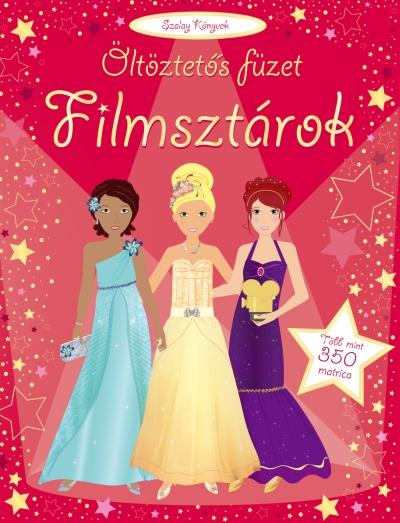 FILMSZTÁROK - ÖLTÖZTETŐS FÜZET