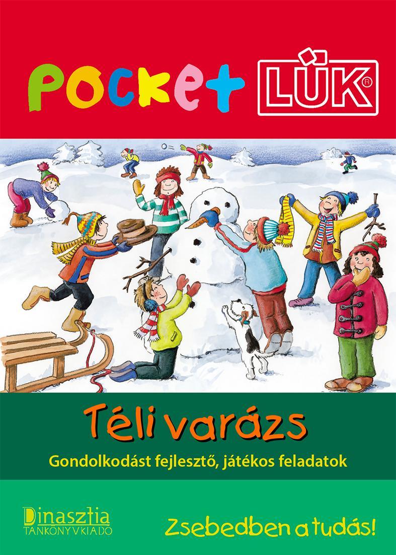 TÉLI VARÁZS - POCKET LÜK+ALAPLAP
