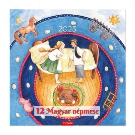 12 MAGYAR NÉPMESE - LEMEZNAPTÁR 2018