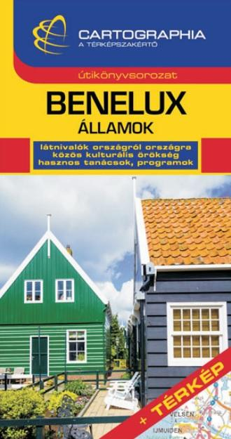 """BENELUX ÁLLAMOK - CART. ÚTIKÖNYV - """"SC"""" -"""