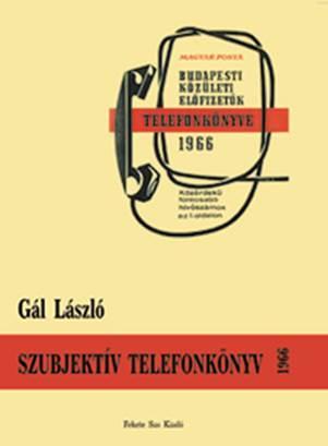 SZUBJEKTÍV TELEFONKÖNYV 1966