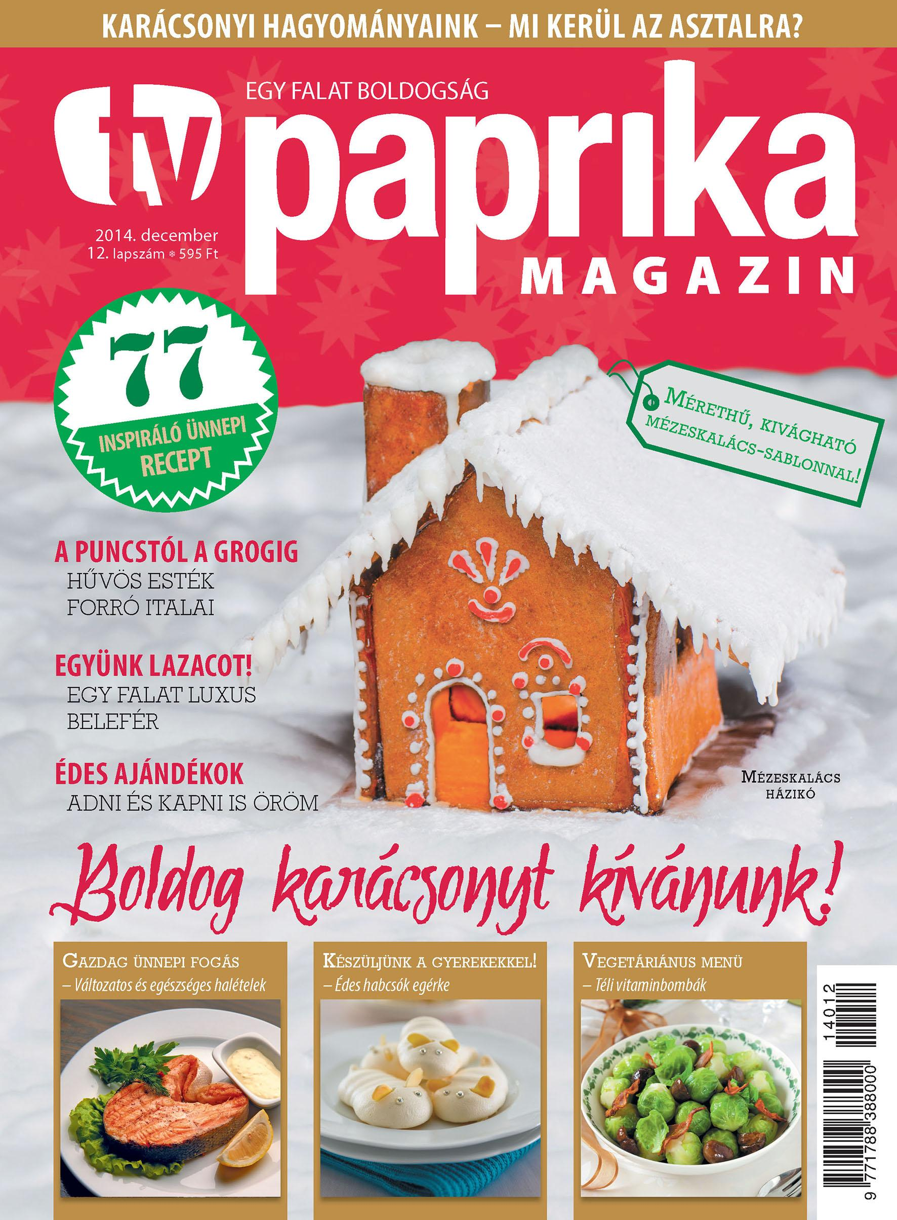 TV PAPRIKA MAGAZIN - 2014. DECEMBER